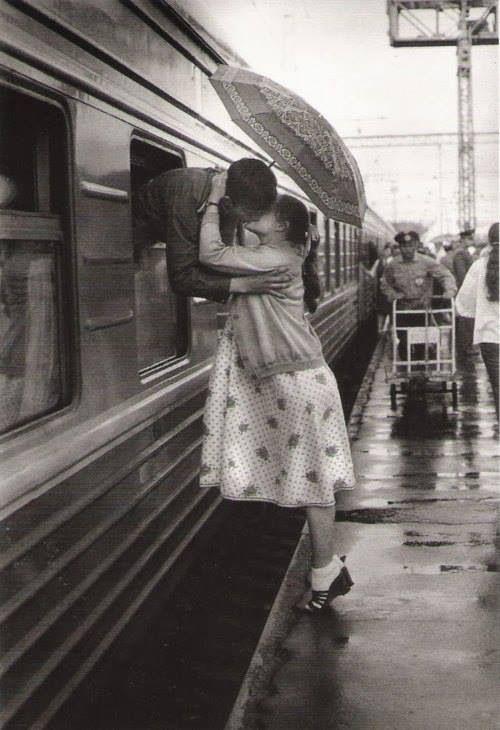 One last kiss.