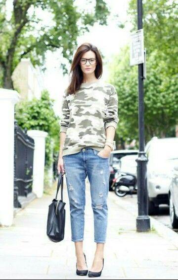 Jeans + moleton