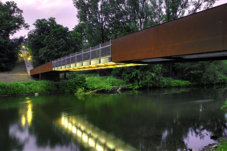 Wupper-Bridge Opladen / Ağırbaş