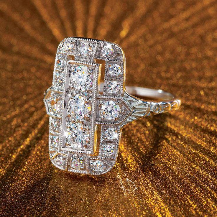 DiamondAura® Outré Ring w6366 | Stauer.com