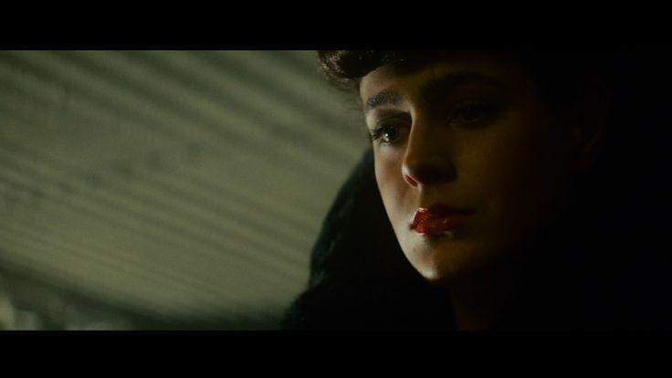 love.rachel. Blade Runner, still one of my favorites!