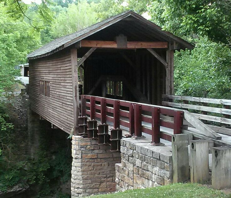 Loved the old covered bridge