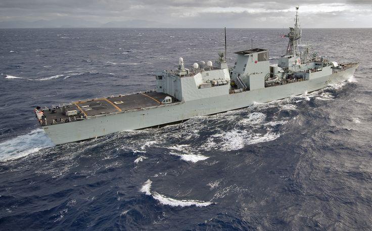 Canadian navy Halifax-class frigate HMCS Regina (FFH334). http://www.navy.mil/management/photodb/photos/130304-N-WF272-048.jpg