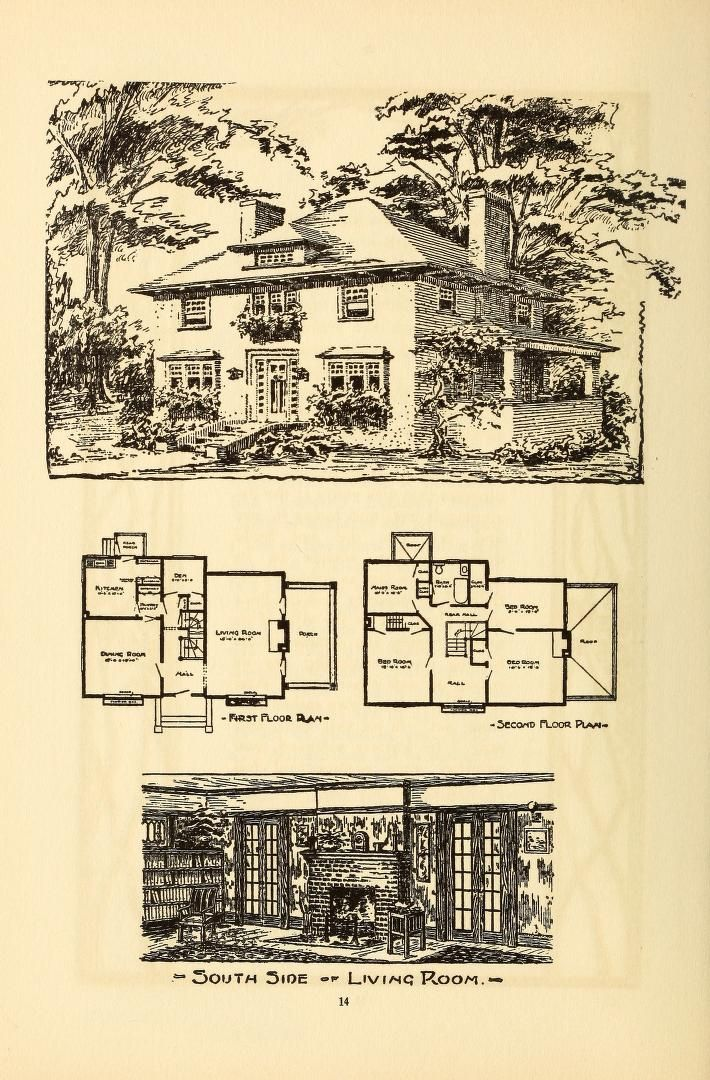 63 best 1890 1930 american foursquare images on pinterest for 1890 house plans