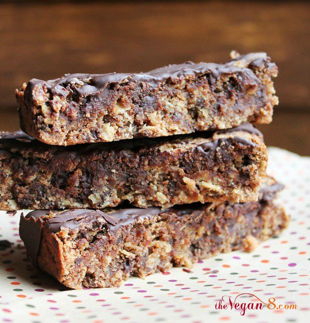 Yay! Another use for the ubiquitous Almond plup...just made them and they are yummy! Almond Pulp Makes the Best Chocolate Chip Bars | The Vegan 8