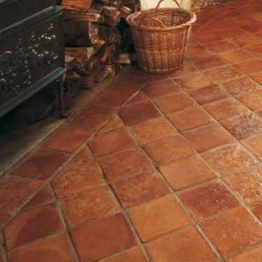 like the border w/the diamond shaped in the middle - Fired Earth Old Terracotta tiles