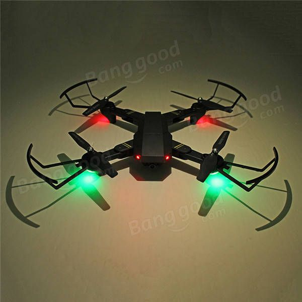 VISUO XS809HW WIFI FPV With Wide Angle HD Camera High Hold Mode Foldable Arm RC Quadcopter RTF Sale - Banggood.com