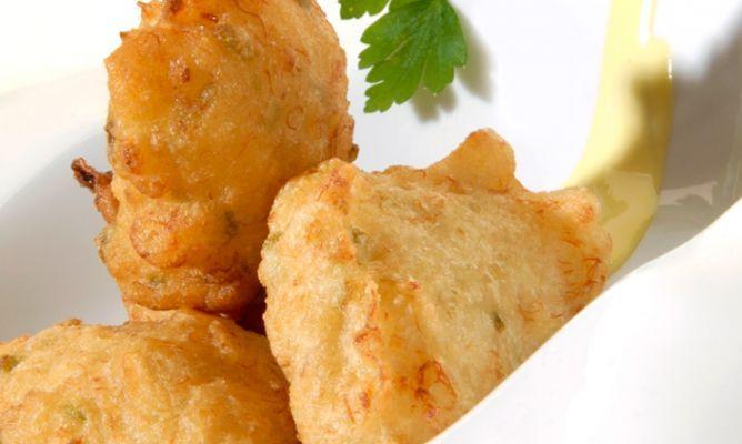 Receta de Buñuelos de bacalao con mahonesa de su jugo