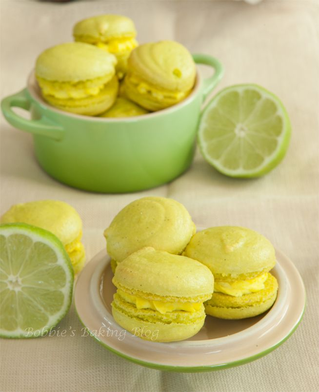 Take yourself to The Florida Keys via Key Lime Pie Macarons: Keys Limes Pies, Pies Recipes, Pie Recipes, Macaroons Recipes, Bobbiesbakingblog Com Keys, Key Lime Pies, Macaron Recipes, Limes Macaroons, Pies Macaron