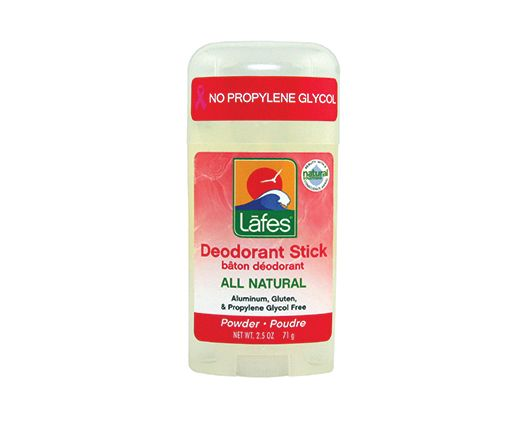 Deodorant without propylene glycol