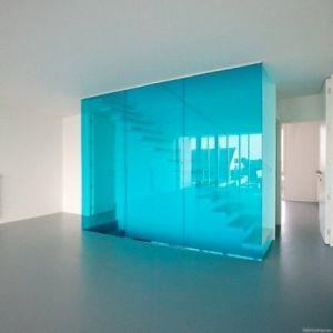 Gekleurd glas op maat