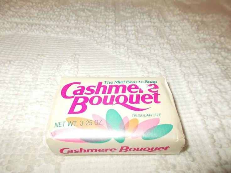 Cashmere Bouquet 3.5 oz  Vintage The Mild Beauty Soap Colgate Palmolive NIP  #Palmolive