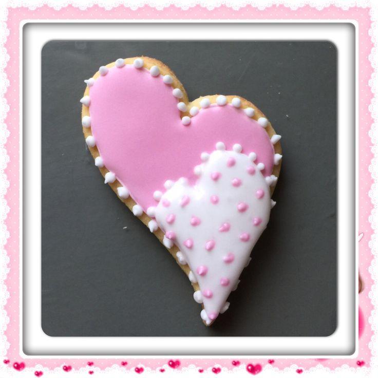 Dekorerte cookies vaniljekjeks