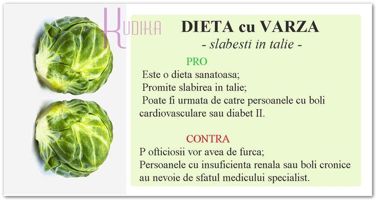 Dieta cu varza este deosebit de eficienta, fiind apreciata de foarte multa vreme pentru efectele sale rapide si de durata.