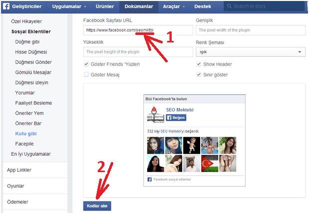Blogger Facebook Hayran Kutusu Ekleme Yöntemi