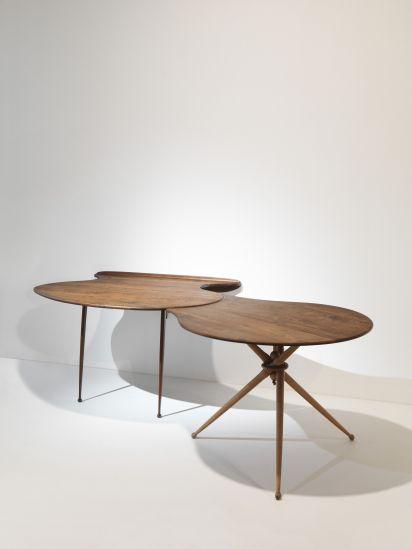 Peder Moos, Unique Work Table 1947. Furniture ...