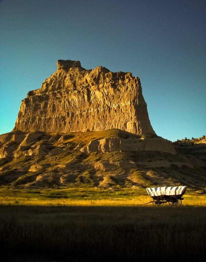 Scott's Bluff National Monument on The Oregon Trail ~ Nebraska