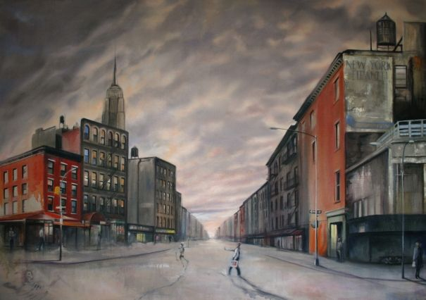 Progress, New York by Georgia Peskett