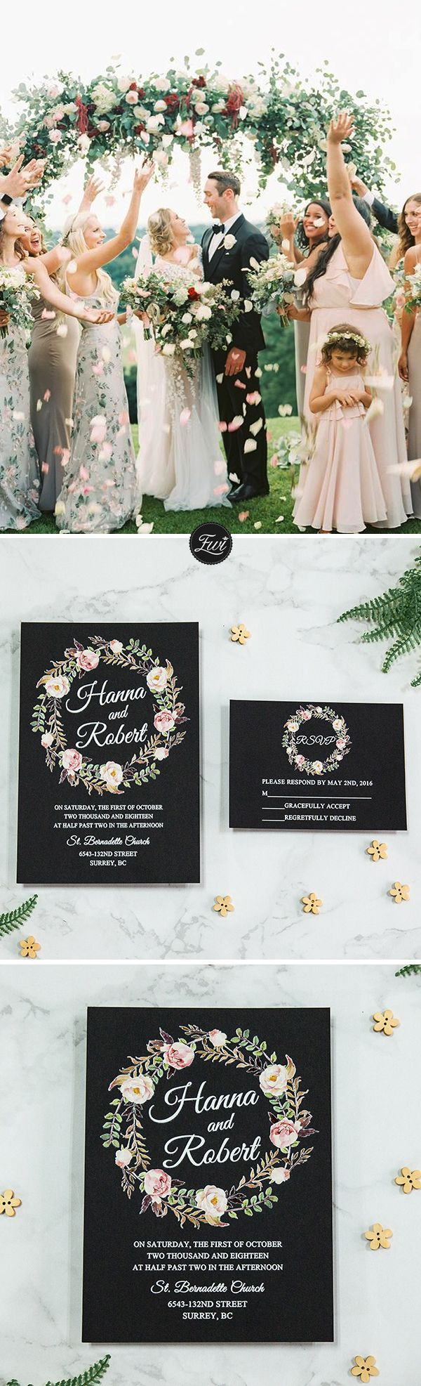284 best Wedding Invitations images on Pinterest