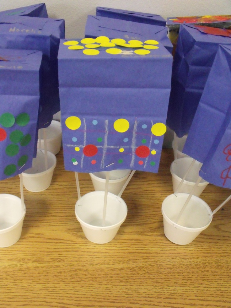 Hot Air Balloons Vbs Inspiration Sky Preschool