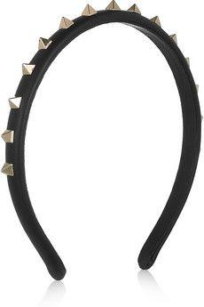 Diy inspiration - Valentinoleather spike headband