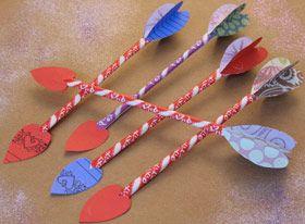Disney Valentines Crafts: Pixie Dust Arrows (Tinker Bell)   Food   Disney Family.com