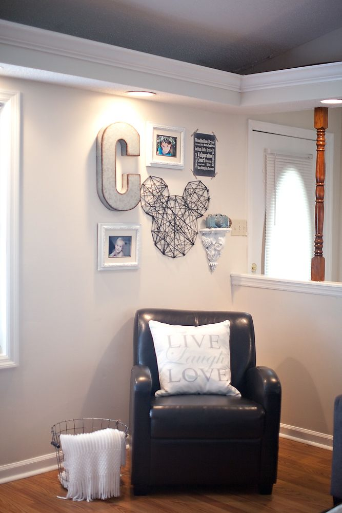 Disney Home Decor Ideas Part - 24: How To Make Disney Inspired Home Decor - Charity Craig