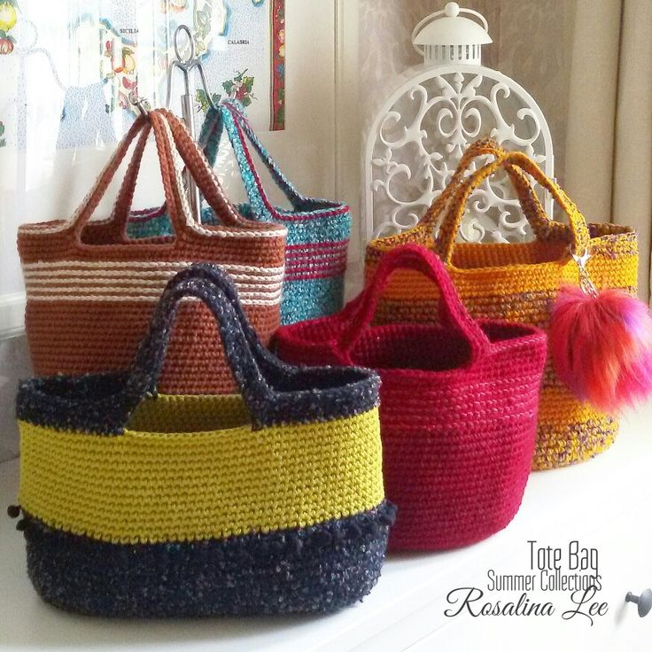 Crochettotebag