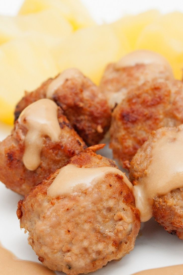 Swedish Turkey Meatballs Recipe | Meatballs | Pinterest
