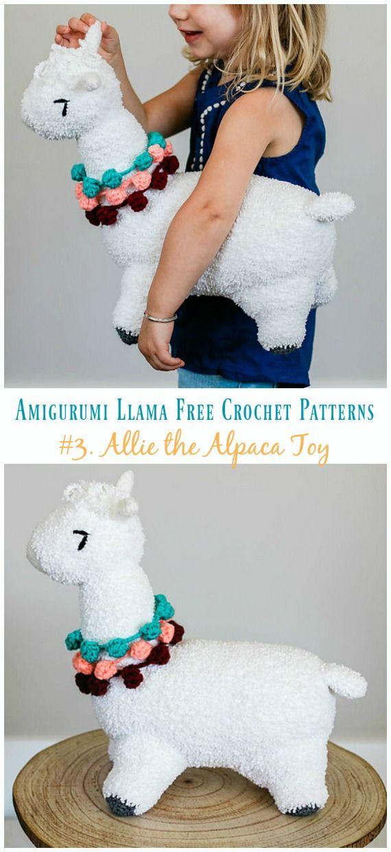 Amiugrumi Alpaca Toy Crochet Free Patterns | Crochet Patterns and ...
