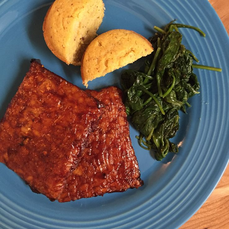 Baked Barbecue Tempeh Steaks | The Friendly Fig