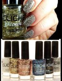 VERNIS A ONGLES EFFET PLUME BLANC CLICHE