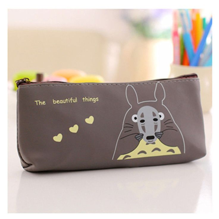 New Totoro Pencil Case Studio Ghibli Pen Holder Anime Cartoon Kawaii UK Gift Zip #Unbranded #CoinBag