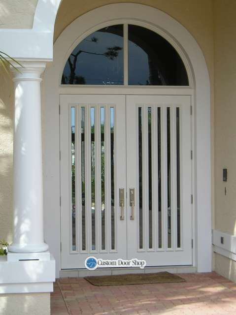 Beautiful Hurricane Rated Entry Door