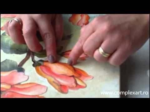 Tutorial - Decoupage 3D - YouTube
