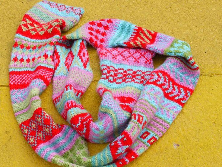 Fair Isle ScarfCrochet Ideas, Knits Crochet, Knits Scarves Cowls, Isle Scarf, Knits Pattern, Knits Ideas, Isle Knits, Crochet Pattern, Fair Isles