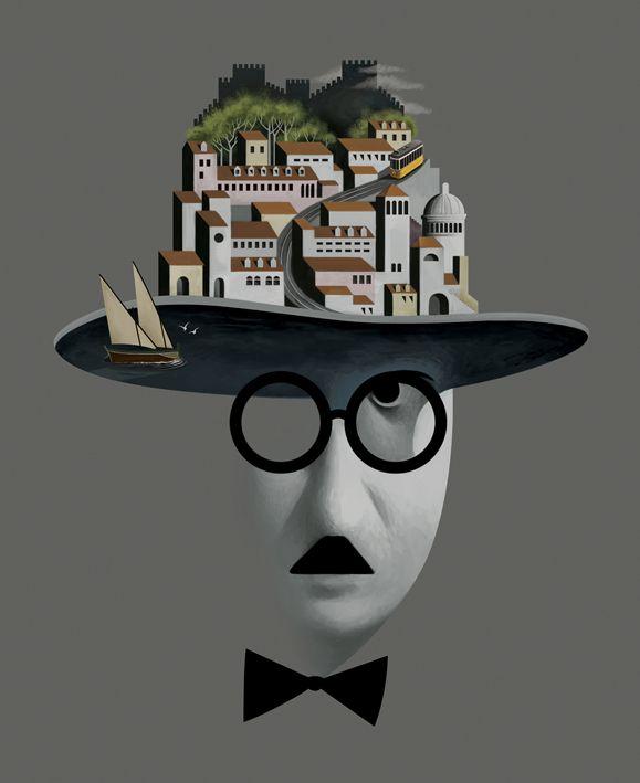 Fernando Pessoa by Cristo Salgado