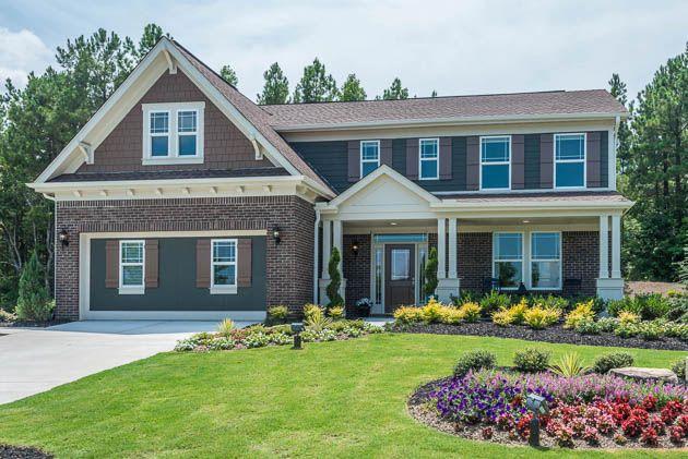 56 best model homes images on pinterest model homes for Craftsman model homes