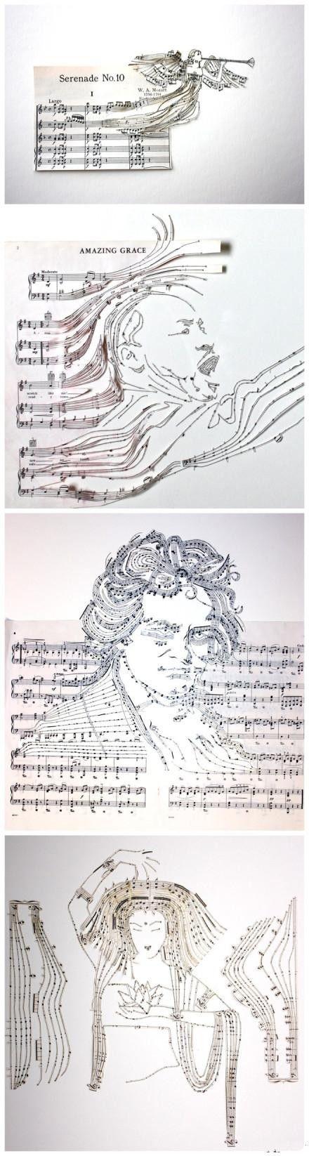 Grandes #leyendas #musicales dibujadas en sus obras MANUMOND
