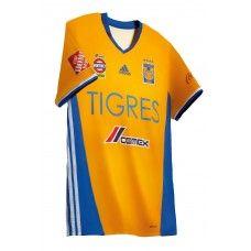 Tigres UANL 16/17 home soccer jersey