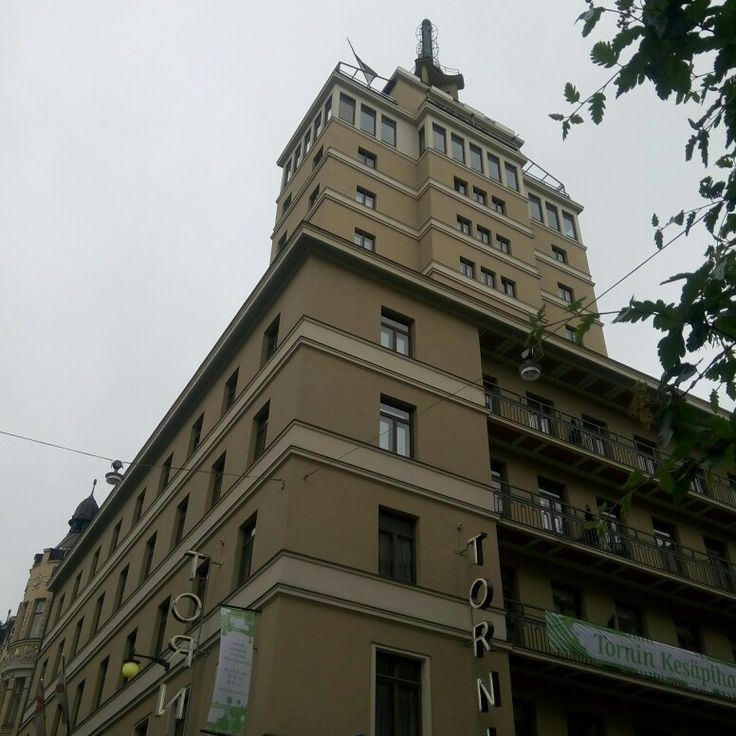 The tower of hotel Torni (tower) in Helsinki