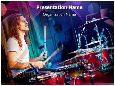 62 best entertainment powerpoint templates backgrounds images on playing drums powerpoint template is one of the best powerpoint templates by toneelgroepblik Choice Image