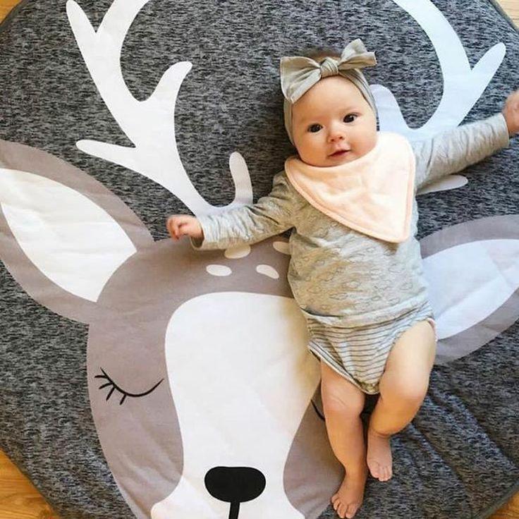 Modern playmat for babies