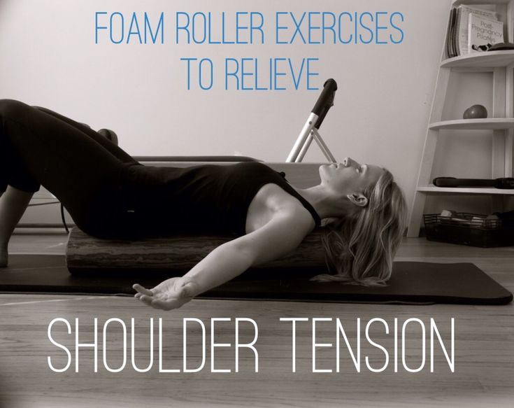 5 Foam Roller Exercises To Relieve Shoulder Tension #workout   http://slimmingtipsblog.com/how-to-lose-weight-fast/