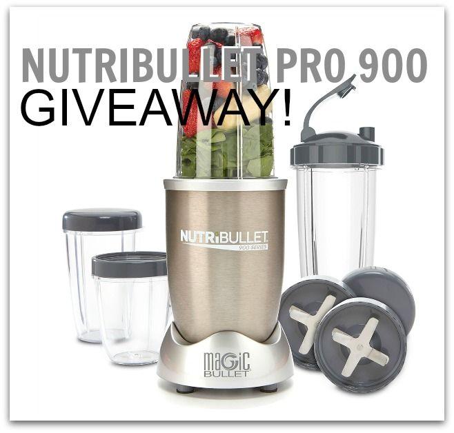 NutriBullet PRO 900 Giveaway!