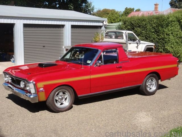1971 XY Ford Falcon 351C Ute in Candy Apple Red Hamilton VIC 3300 - CarHubSales.com.au