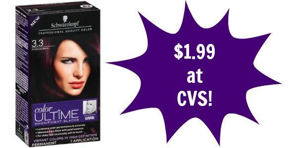 CVS: Schwarzkopf Hair Color Only $1.99!