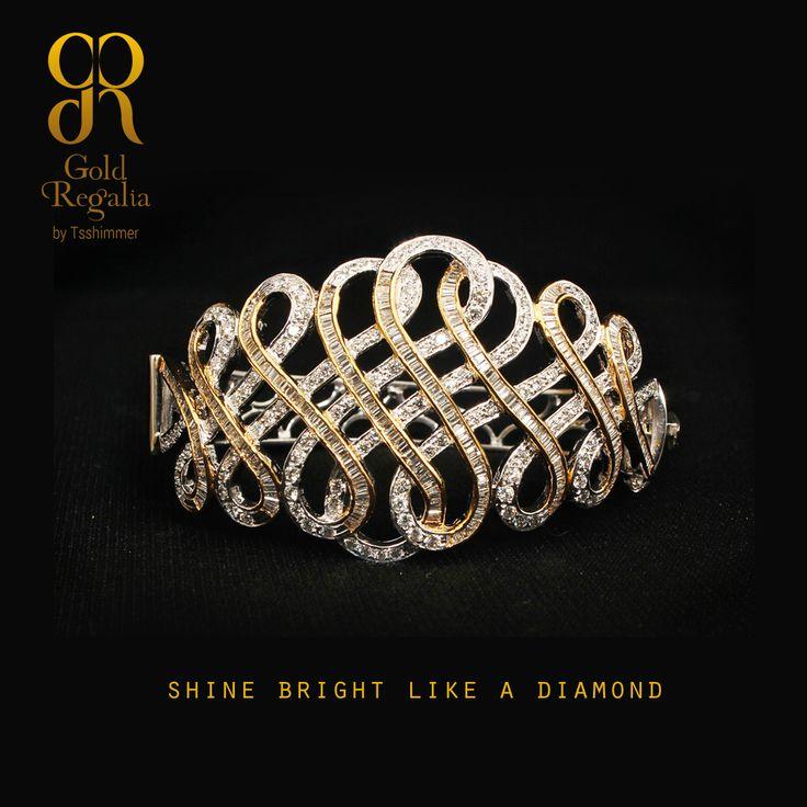 Shine Bright Like a Diamond :http://goo.gl/fWg6On #WomensJewelry #ClassyJewelry #OnlineJewelry #DiamondJewelry #Bracelets