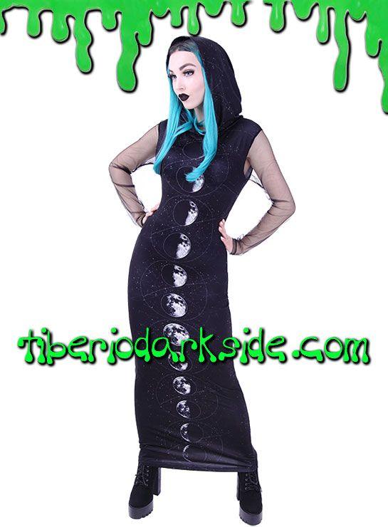 Tiberio Dark Side - Vestido Fases de la Luna