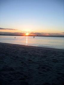 Sunrise at Brighton Le Sands.